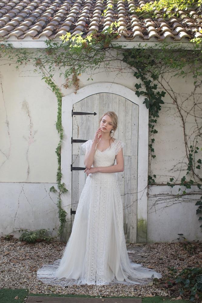 フィオレビアンカのドレス